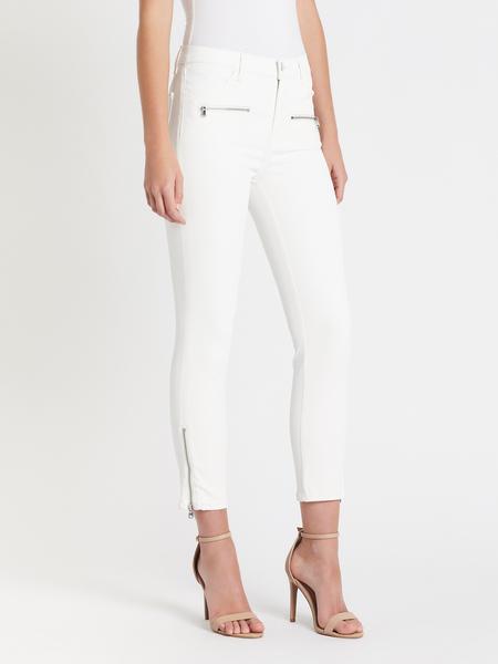 J Brand Moto Ruby Jean - white