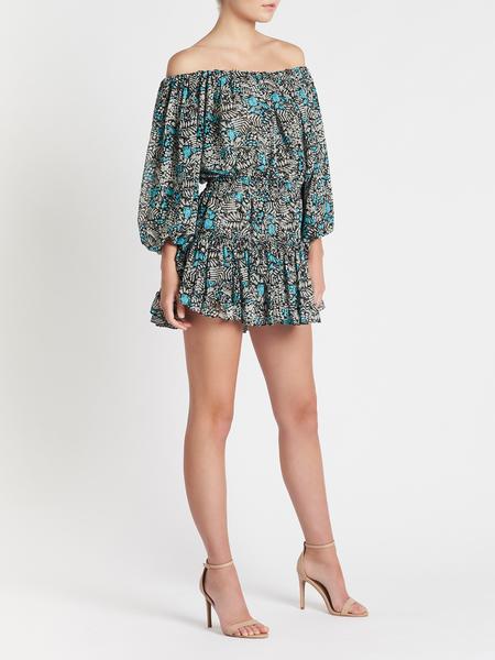 Misa Los Angeles Zonia Dress - blue