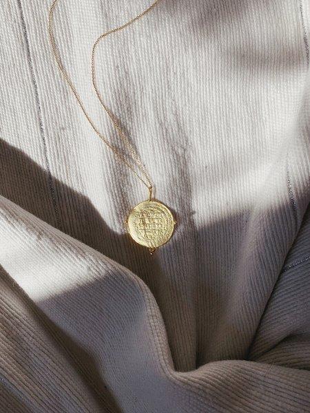 Cleopatra's Bling Seljuks Dinar Charm Pendant - Gold