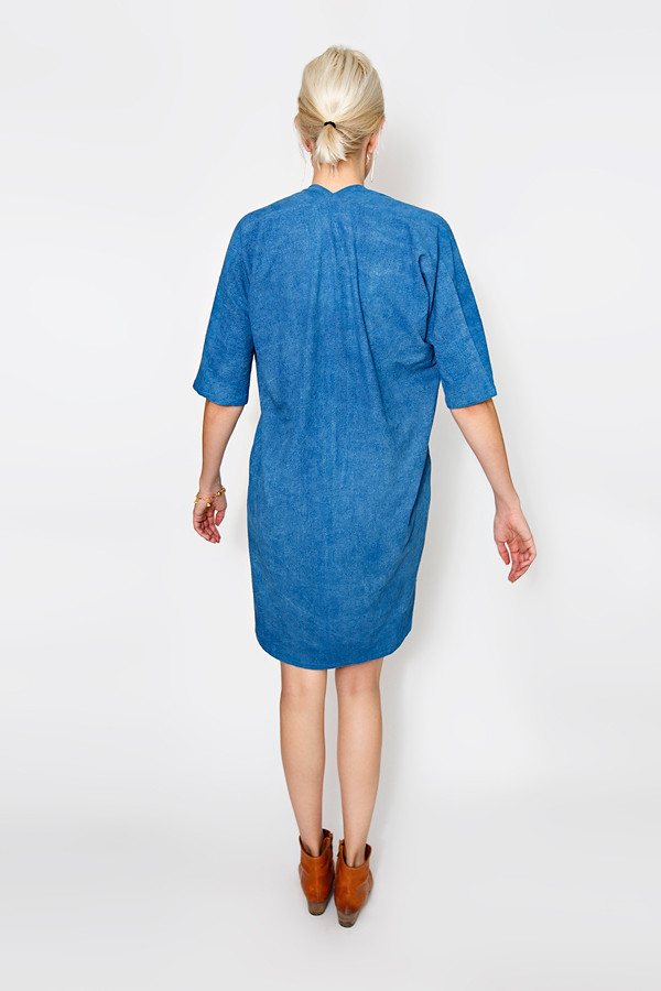 Miranda Bennett Indigo Muse Dress | Silk
