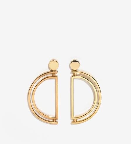 Luz Ortiz Movil Earrings - Gold