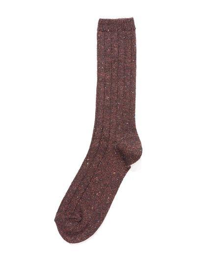 Alto Milano 023 Maracana Socks - Rosso/dark Red
