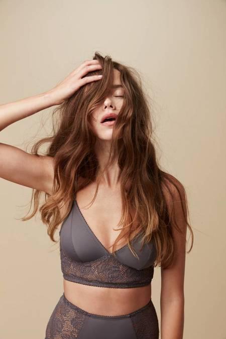 Fortnight Mira long-line bra