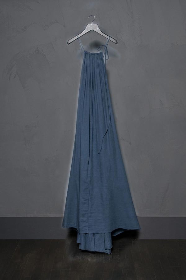 KES Strings Organic Maxi Dress Gauze