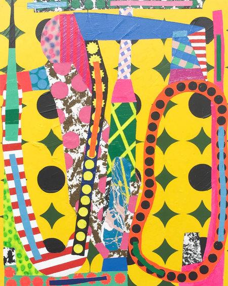 Jonathan Casella Disembodied Euphoria: Sage and Jasmine Walk; Zombie Tablecloth I