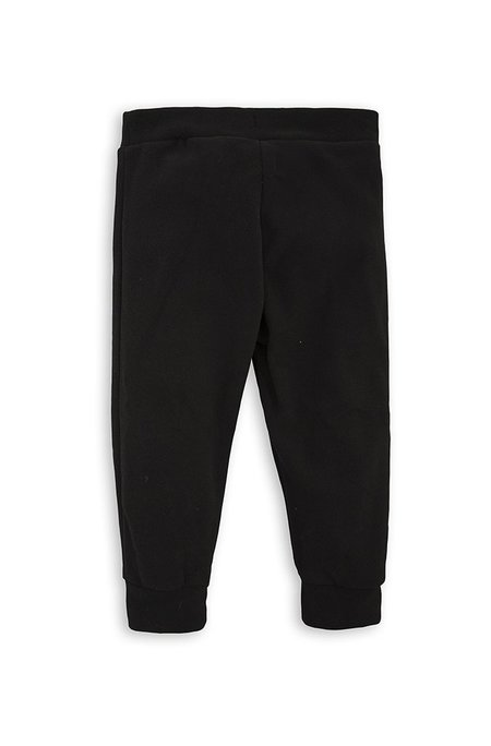 KIDS Mini Rodini FLEECE TROUSERS - BLACK