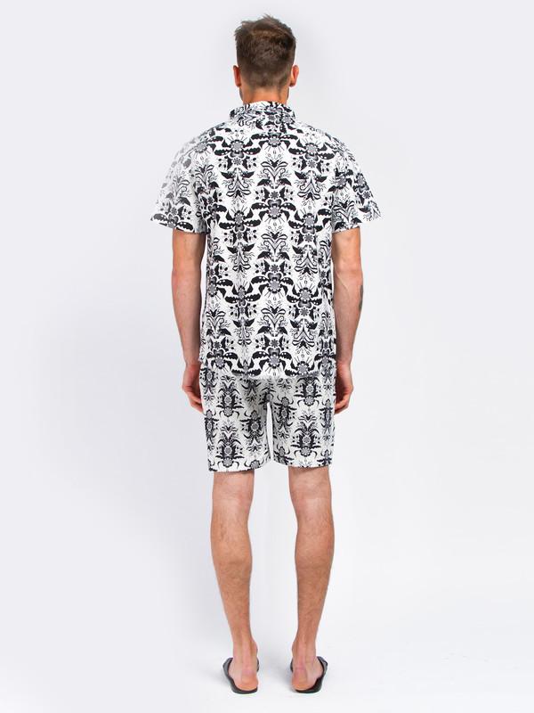Men's Uniforms For The Dedicated Aikau Zip Shirt