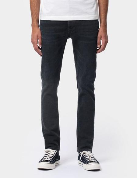 Nudie Jeans Co. Lean Dean Slim Tapered Jeans - Black Out