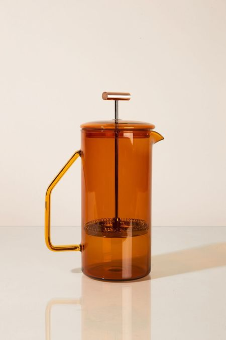 YIELD Glass French Press - Amber
