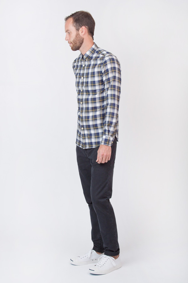 Men's Portuguese Flannel Cherne Long Sleeve Flannel Shirt
