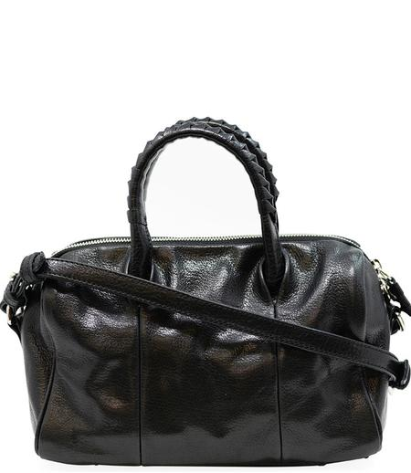 Cornelian Taurus Leather Boston Bag - Black