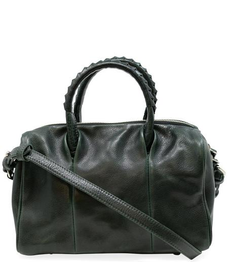 Cornelian Taurus Leather Boston Bag - Green