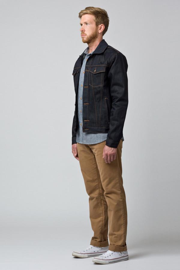 Men's Raleigh Denim Denim Jacket Original Selvage