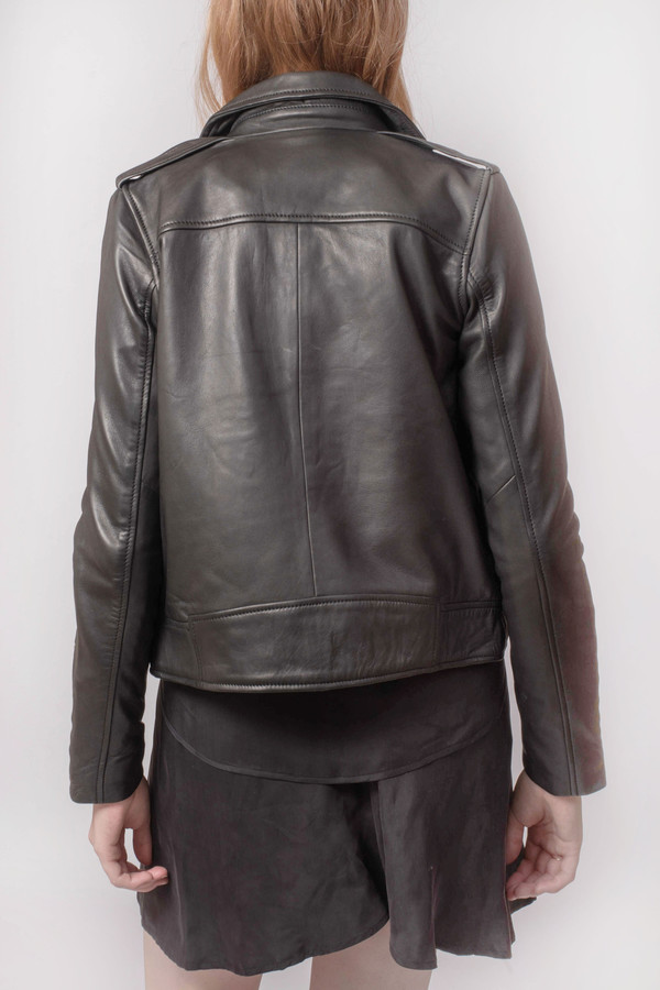 Won Hundred Manilla Leather Jacket