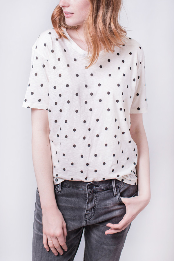 Hope Say Thin Tee Black Dot