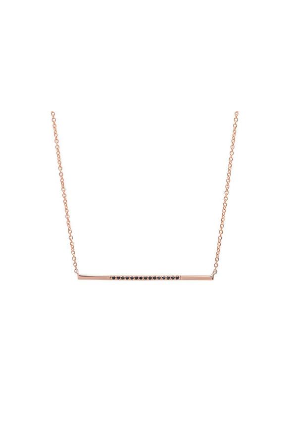 Sachi Jewelry Segment Bar Necklace