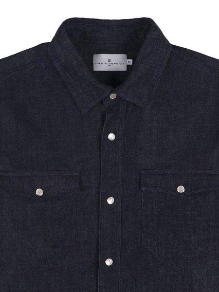 Cuisse de Grenouille Denim Twill Shirt - Dark Indigo