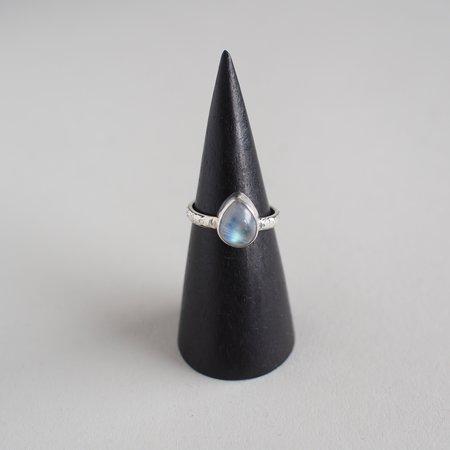 Fireborn Jewelry Teardrop Moonstone Ring