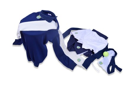 Sample-CM GB153 TROUSERS AND SHORTS - NAVY