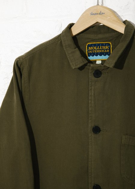 Mollusk Fall Deck Jacket - Mash Green