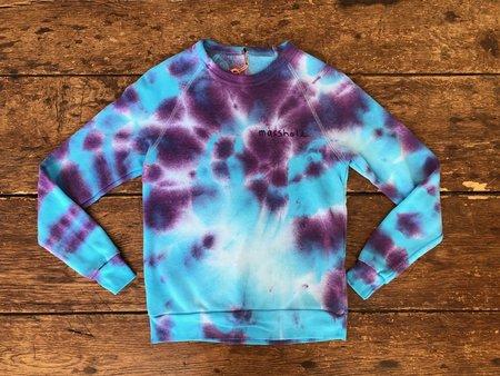 The Masshole Project Masshole Sweatshirt - Aqua/Purple Tie-Dye