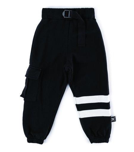Kids Nununu Cargo Sweatpants - Black