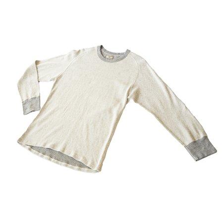 Homespun Knitwear Raglan Mil-Spec Thermal - Off-White