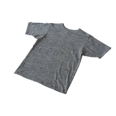 National Athletic Goods Athletic Mock Twist Jersey Tee - Dark Grey
