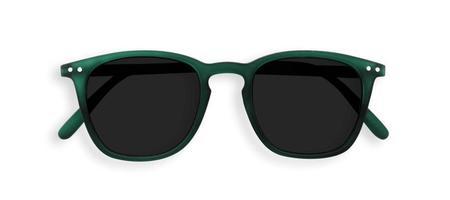 Izipizi Sunglasses #E - Soft Grey/Green Crystal