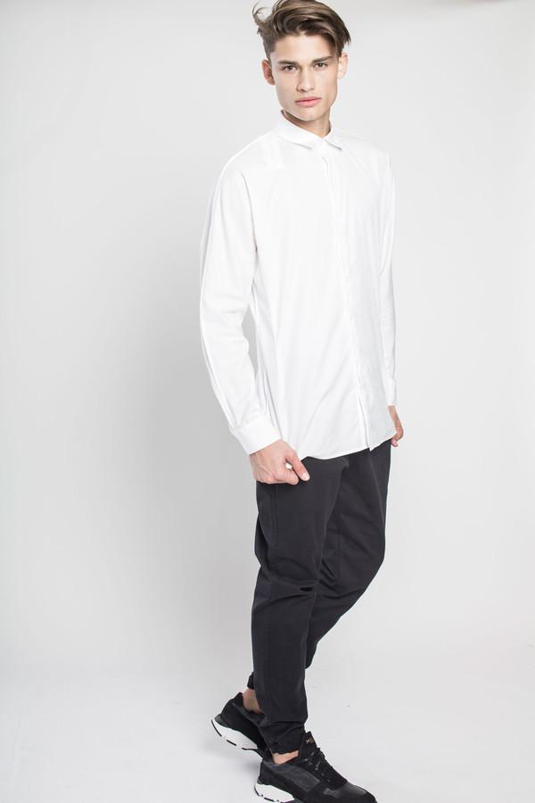 Men's Kenneth Ning Dolman Sleeve Pintuck Shirt