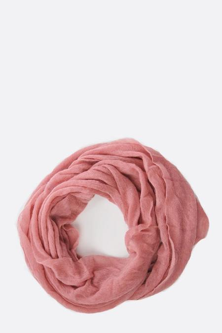Botto Giuseppe Cashmere Tube Scarf - Dusty Terracotta
