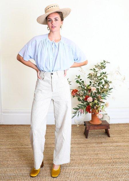 Gravel & Gold Placer Pant - Linen Stripe