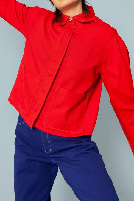 L.F.Markey Marlo Jacket - Red