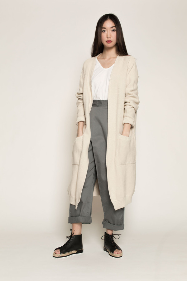 Kowtow Once Upon A Time Cardigan in Natural