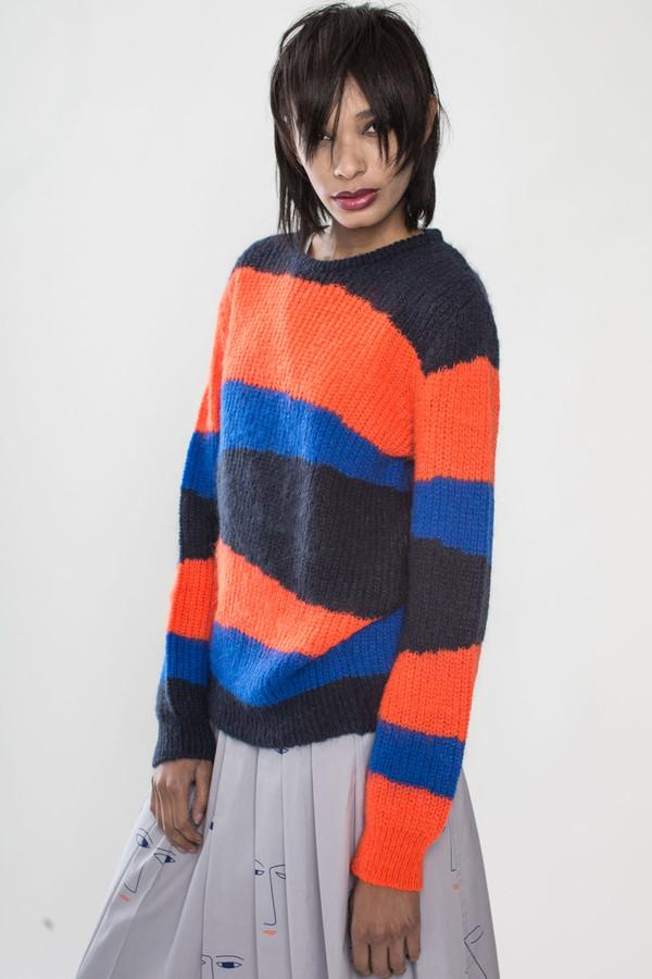Unisex Tigersushi Furs Rabah in Orange/Black/Navy