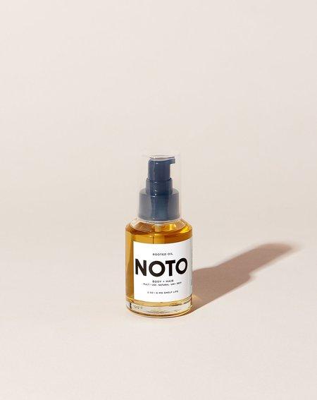 NOTO botanics 2 oz Rooted Oil