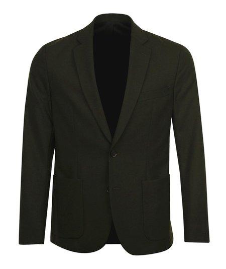 J Lindeberg Hopper PP UNC-Stretch Wool Blazer - Khaki