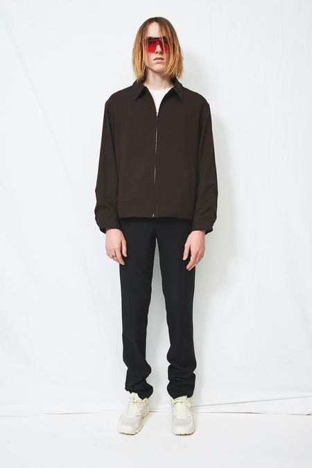 Assembly Zip Coat - Houndstooth