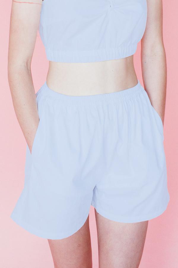 Samantha Pleet Isle shorts - sky