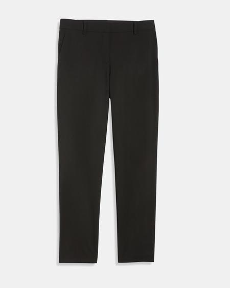 Theory Crop Pant Eco - Pop Navy
