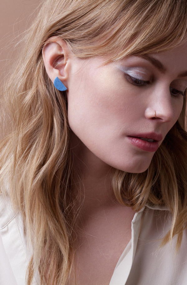 Mini Half Moon Earrings