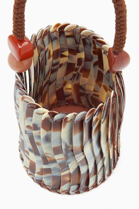 Ulla Johnson Asli Basket Bag - Horn