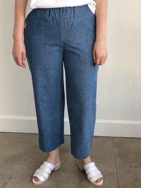 Unisex FAAN Slack Pants - Blue Denim