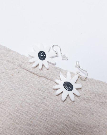 Woll Daisy Dangle Earrings