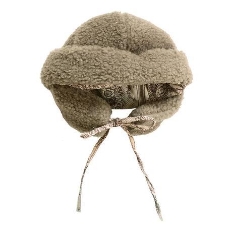 kids Tambere Faux Fur Hat - Mocha Brown