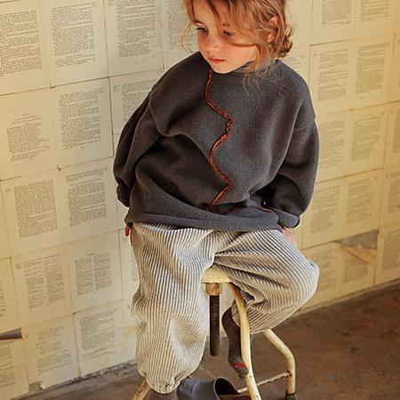 kids Tambere Fleece Sweatshirt - Charcoal Grey