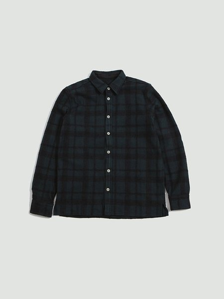 A Kind of Guise Dullu Overshirt - black forrest