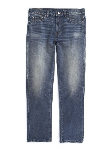 Outerknown Local Straight Fit - Worn Indigo