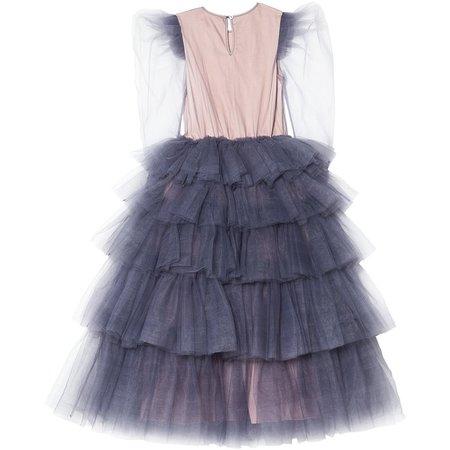 Kids Tutu Du Monde Stargazer Long Tutu Dress - Twilight