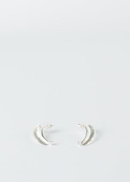 Mirit Weinstock Crowned Eyelash Earrings